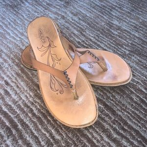 Keen Alman Leather Sandals Sz 7.5